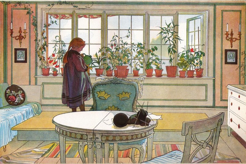 Flowers on the Windowsill (1894)