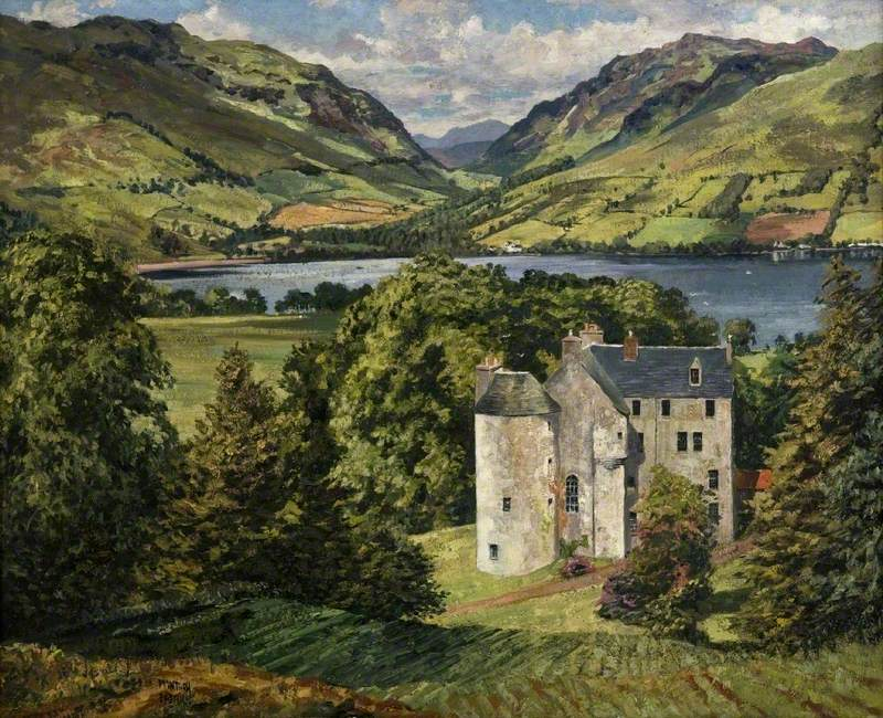 "James McIntosh Patrick, ""Castle in Scotland"""