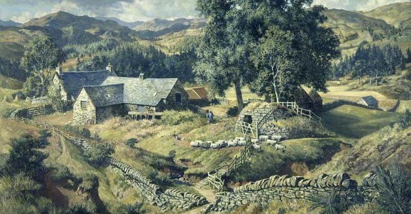 "James McIntosh Patrick, ""Boreland Mill, Kirkmichael"" (1950)"
