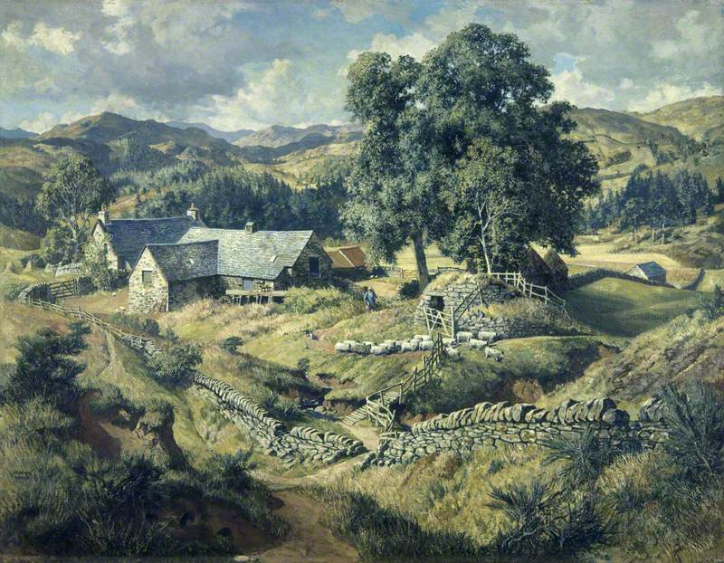 "James McIntosh Patrick, ""Boreland Mill, Kirkmichael"" (1950)"