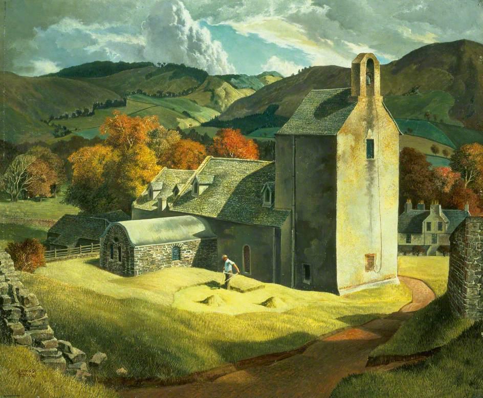 "James McIntosh Patrick, ""Stobo Kirk, Peeblesshire"" (1936)"