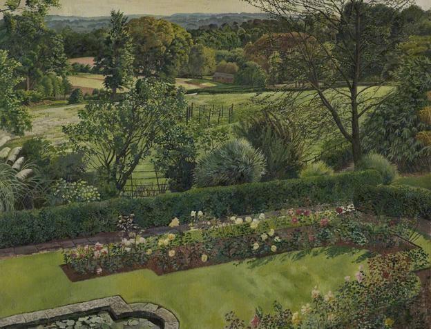"""Stanley Spencer, """"Landscape, Cookham Dean"""" (c. 1939)"""