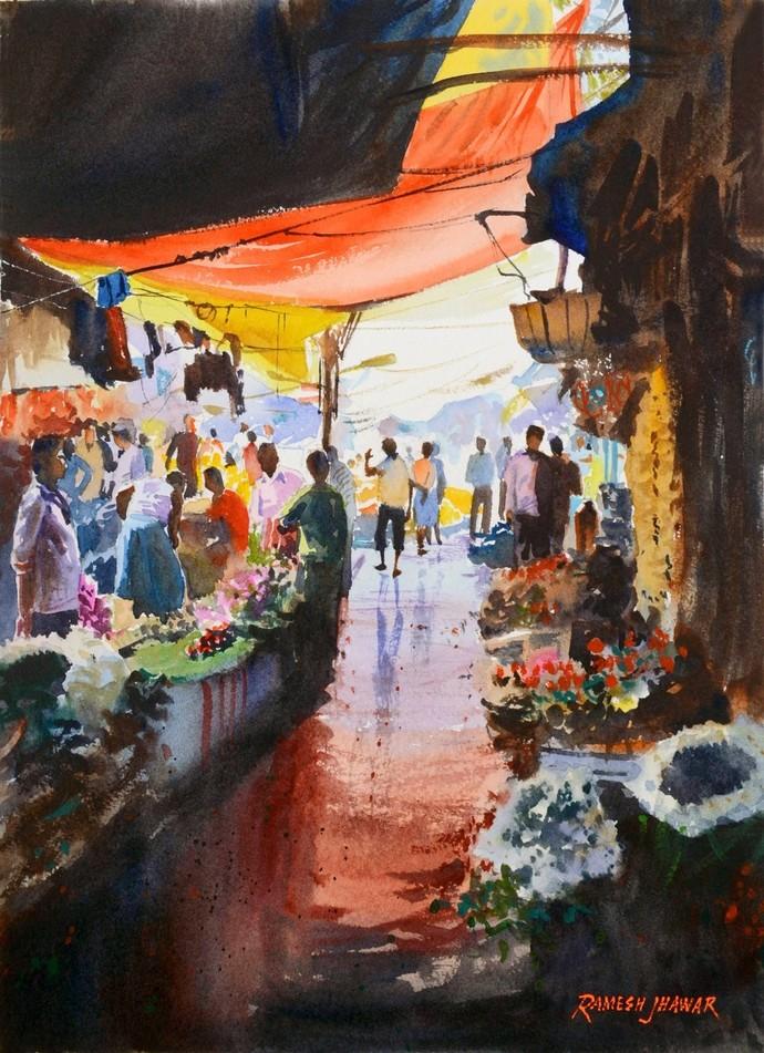 Flower Market #2