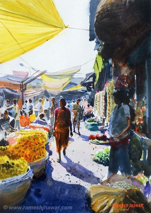 Flower Market #1