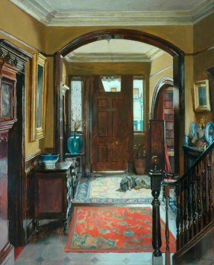 "Mary Dawson Elwell, ""The Front Door"" (1940)"