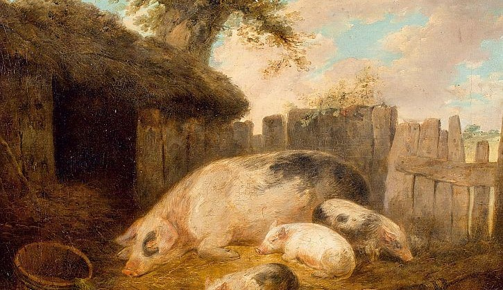 george-morland-the-pigsty1793