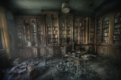 spooky library