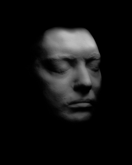 coleridge  -life mask