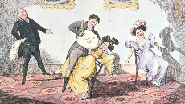 humphrey-davy-administering-laughing-gas