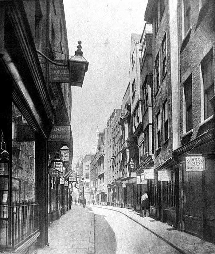 The slang guide to london holywell street the dabbler for Classic house old street london