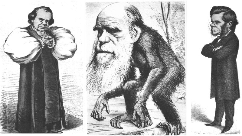 Wilberforce_Darwin_&_Huxley