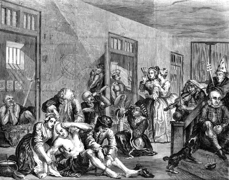 hogarth bedlam