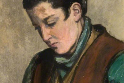 Portrait of Valentine Ackland (by Gertrude Mary Powys)