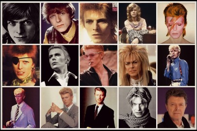 faces of bowie